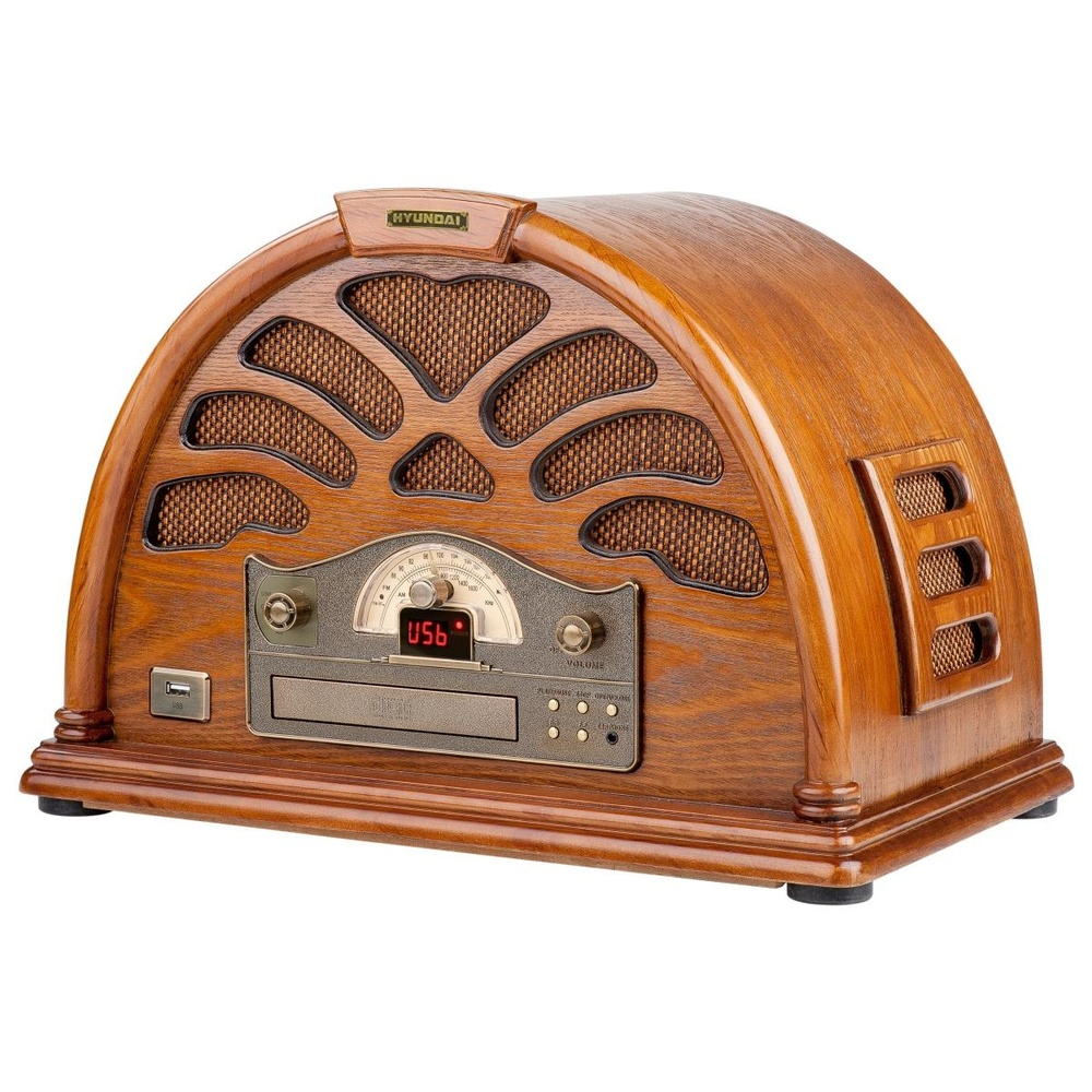hyundai electronics radio retro style hyu rc 403u. Black Bedroom Furniture Sets. Home Design Ideas